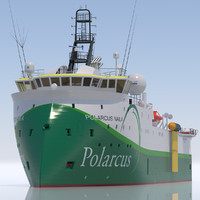 3ds seismic vessel polarcus naila