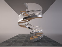 3d stair helix