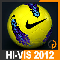 2011 2012 Nike T90 Seitiro Winter Hi-Vis Match Ball