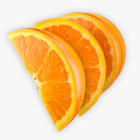3ds max orange slice