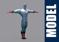 captain atom obj free