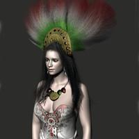 maya realistic mexican