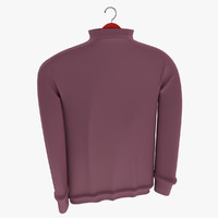 3d model men sweater t