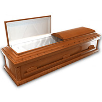 High Def wood Coffin Italian
