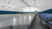 Airdome hockey playground