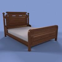 lwo victorian bed