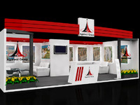 3d max exhibition stall