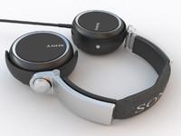 headphone mdr-xb800 3d max