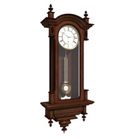 3ds max old wall clock