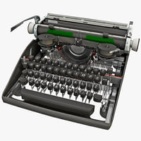 Vintage Typewriter Mechanism