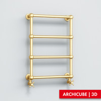 towel rail 3d x