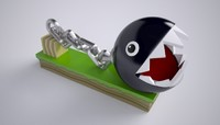 chain chomp 3d model