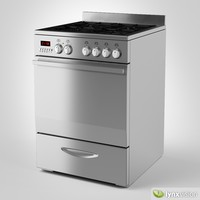 euromaid gas stove 3d model
