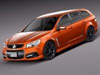 3d 2013 2014 wagon holden