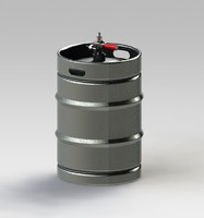 assembly beer kegs 3d model