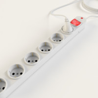 plug extension multiplug 3d 3ds
