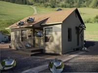 free max model house scene