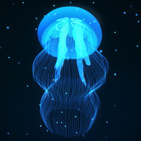 obj realistic jellyfish