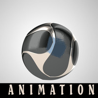 3ds max football animation ball