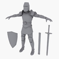 3ds max knight medieval
