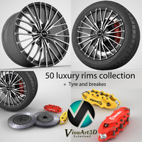 3ds 50 wheel rims
