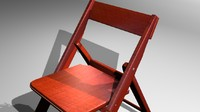 photorealistic chair rustic 3d max