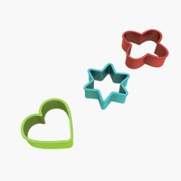 cookie cutter cookie-cutter 3d max
