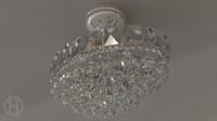 3d model chandelier v3 0 lamp