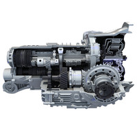 3d transmission cutaway model