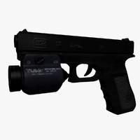 cinema4d glock 17