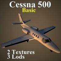 maya cessna 500 basic