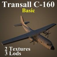 transall basic 3d model