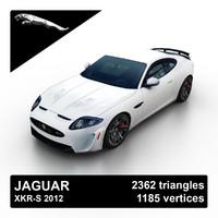 3d model 2012 xkr-s sport car