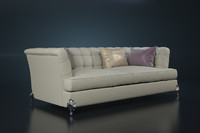 3d model of sofa bruno zampa