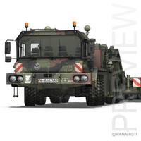 faun stl-56 - heavy 3d obj