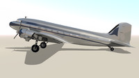 maya dc-3 plane