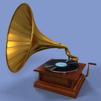 Gramophone Retro