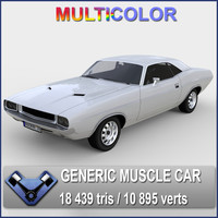 generic muscle car kowalsky 3d 3ds