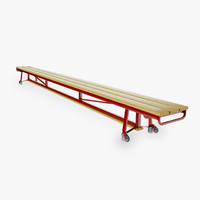 Gymnastic benches