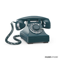 3ds max western electric 302 phone