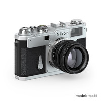 Nikon S3 film camera