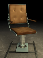 chair submarine 3d 3ds