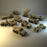 3d vehicles army