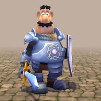 rigged character max