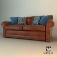 3d model wade jefferson sofa