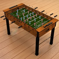 3d max soccer table