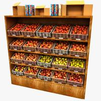 apples 3d model