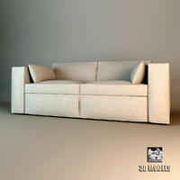 free eichholtz sofa richard 3d model