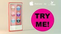 3dsmax ipod nano
