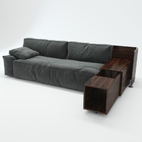 cassina 244 myworld 3d model